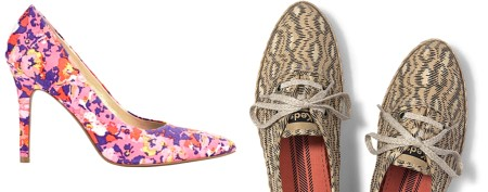 Shoe guide for springtime