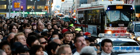 Toronto's booming population: not all good news