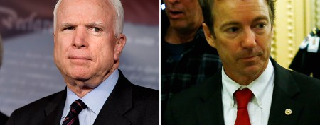 McCain slams Rand Paul's filibuster 'stunt'