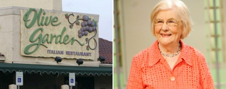 Olive Garden reviewer changes her tune