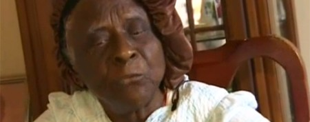 Singing 82-year-old woman pulled off train