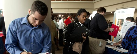 Unemployment rate falls to four-year low