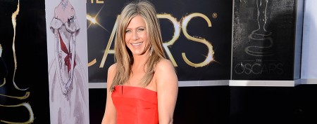 What will Aniston wear to tie the knot?