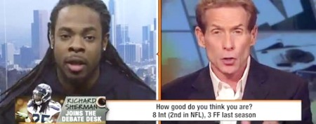 NFL star repeatedly rips ESPN show host