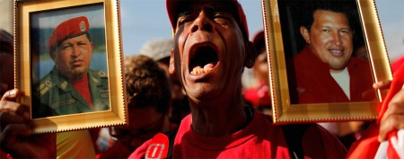 Emotions run high at Chavez funeral