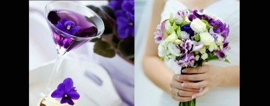 Get set for a fabulous 'purple' wedding