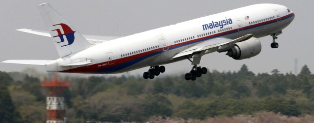 Pesawat Boeing 777-200 milik Malaysia Airlines (Foto: AP/Kyodo News)