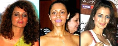 Bolywood celeb makeup disasters