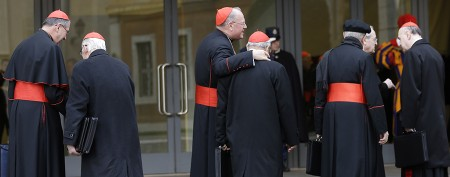 Final preparations ahead of conclave's start