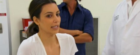 Kim Kardashian's painful beauty treatment