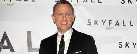 Daniel Craig gets a Bond-style car