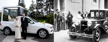 How popemobile has evolved over time