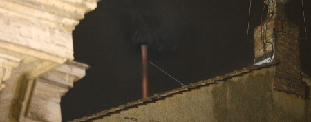 No new pope on first day of conclave