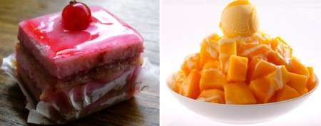 Delicious desserts from around the world