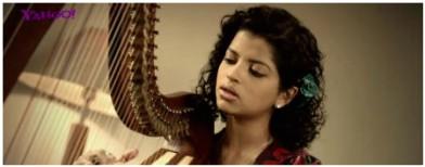 Yahoo! music: Nush Lewis on the harp