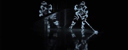 Hockey phenom's hypnotic moves on ice