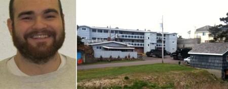 Cops storm motel, grab murder suspect