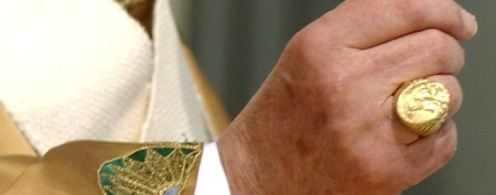 Details on the new Pope's unique ring
