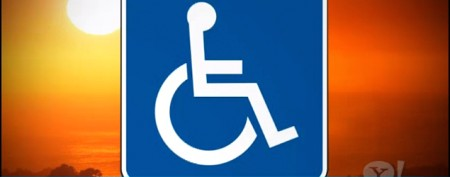 Why handicap signs are blue