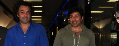 Spotted: Sunny and Bobby Deol together