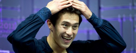 Patrick Chan smashes record at worlds