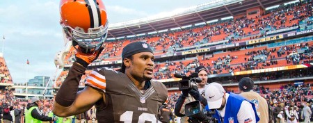 Josh Cribbs says heartfelt farewell to Cleveland