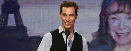 Matthew McConaughey's body bounces back