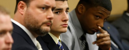 Ohio rape trial opens with graphic image