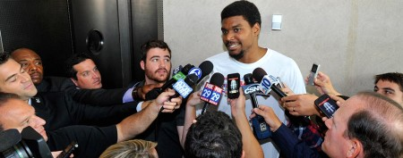 Who picks up tab for Andrew Bynum's season