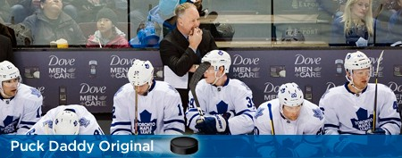 Can anyone save the Leafs from their coach?