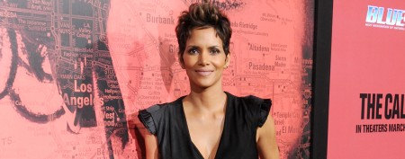 Halle Berry sports bad 'poodle' hair in movie
