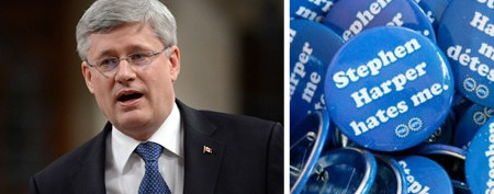 Union's all-out attack against Harper
