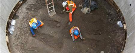 Dig may have unearthed Black Death graves
