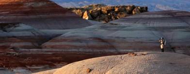 Mars in the Utah desert