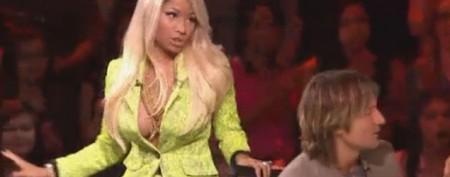 Nicki Minaj's 'Idol' temper tantrum
