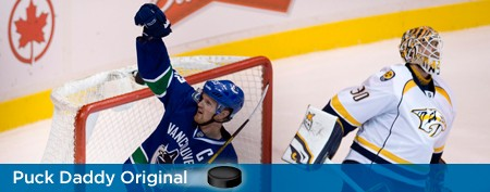 Henrik Sedin's sick penalty shot goal