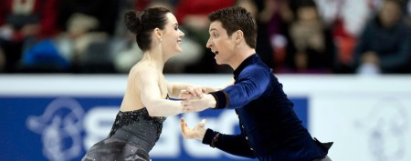 No home ice advantage for Virtue and Moir