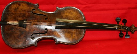 Violin confirmed as relic of historic tragedy