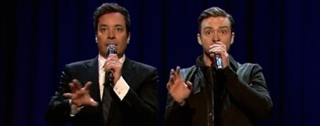 Fallon, Timberlake unleash new 'History of Rap'