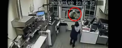 Robbery stopped by a cup of coffee