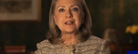 Clinton declares support for gay marriage