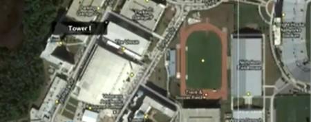 Guns, explosives found on college campus