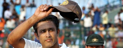 Rewind: When Kumble left the game