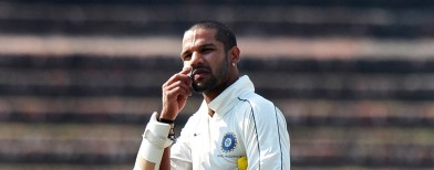 Dhawan set to miss Delhi Test