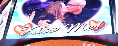 Fan irked by NFL team's Kiss Cam 'gag'