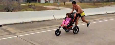 Terminally ill man wins marathon with daughter