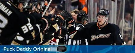 Why didn't Corey Perry test the market?
