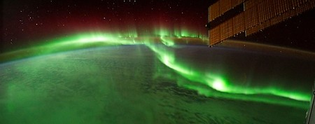 Otherworldly light shows from space