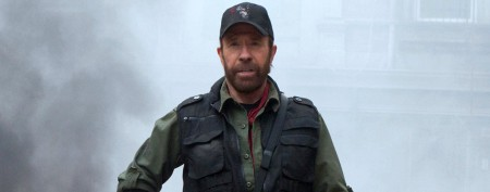 Chuck Norris ditches signature beard