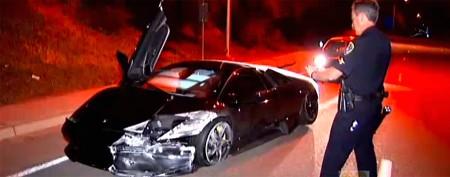 Couple buys, then crashes, $220K sports car